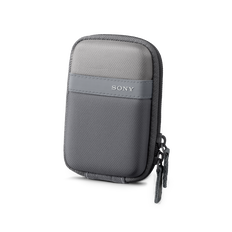 Soft Carrying Case for T & W SeriesCyberShot (Silver)