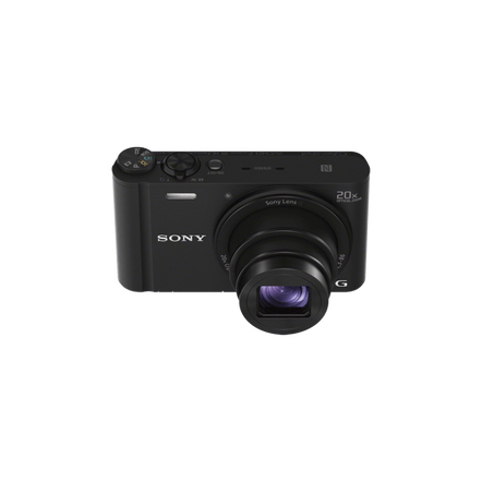 WX350 Digital Compact Camera with 20x Optical Zoom (Black)