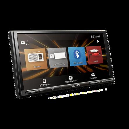 """17.6cm (6.95"""") LCD AV Receiver"""