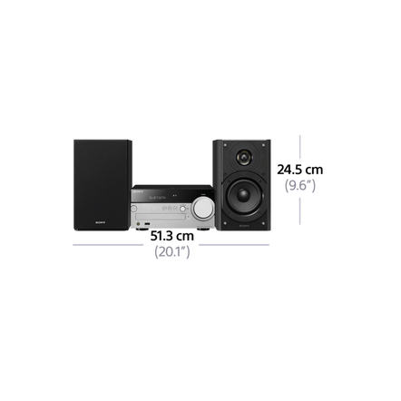 Hi-Fi System with Wi-Fi/Bluetooth