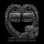 WS Series Waterproof MP3 4GB Walkman with Bluetooth (Black)
