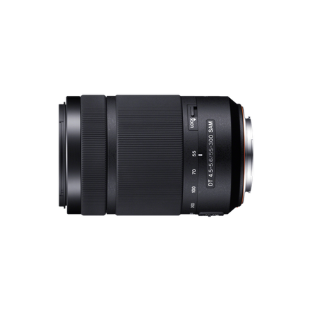 A-Mount DT 55-300mm F4.5-5.6 SAM Lens