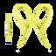 AS410AP Sport In-ear Headphones (Yellow)