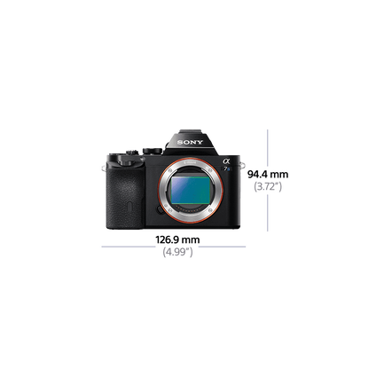 a7S Digital E-Mount Camera with Full Frame Sensor (Body only)