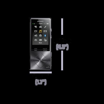 A Series High-Resolution Audio 16GB Walkman (Red)