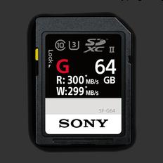 64GB SF-G  Series UHS-II SD Memory Card
