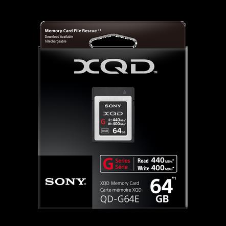 XQD G Series 64GB Memory Card
