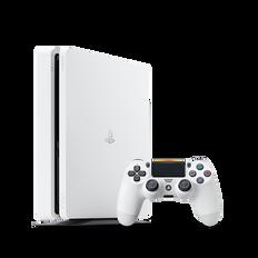 PlayStation4 Slim 500GB Console (White)