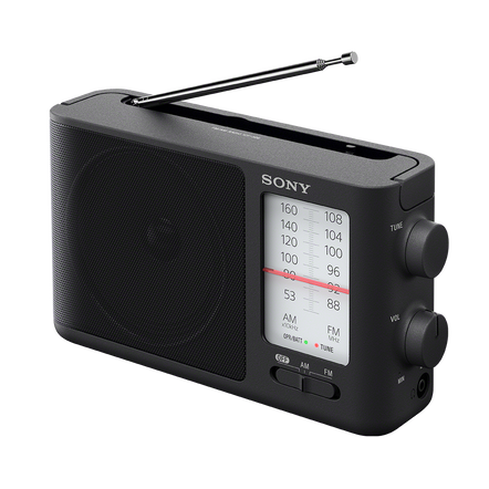 Analog Tuning Portable FM/AM Radio