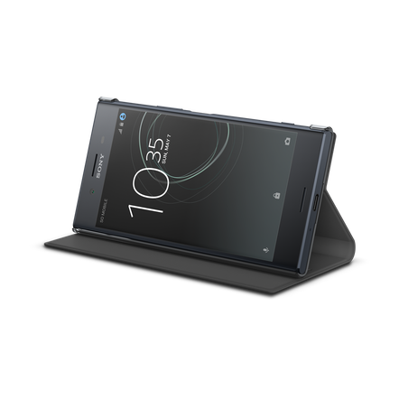 Style Cover Stand SCSG10B for Xperia XZ Premium (Black)