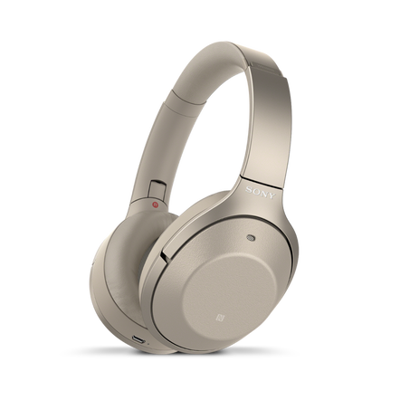 1000X Flagship Wireless Noise Cancelling Headphones (Gold)
