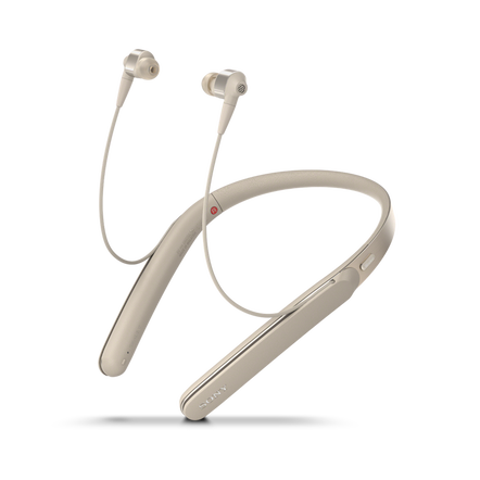 1000X Wireless Neckband Noise Cancelling Headphones (Gold)