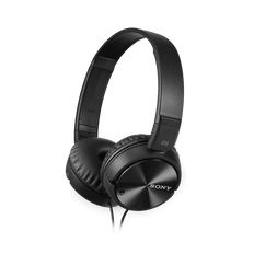 ZX110NC Headband Type Noise Cancelling Headphones (Black)