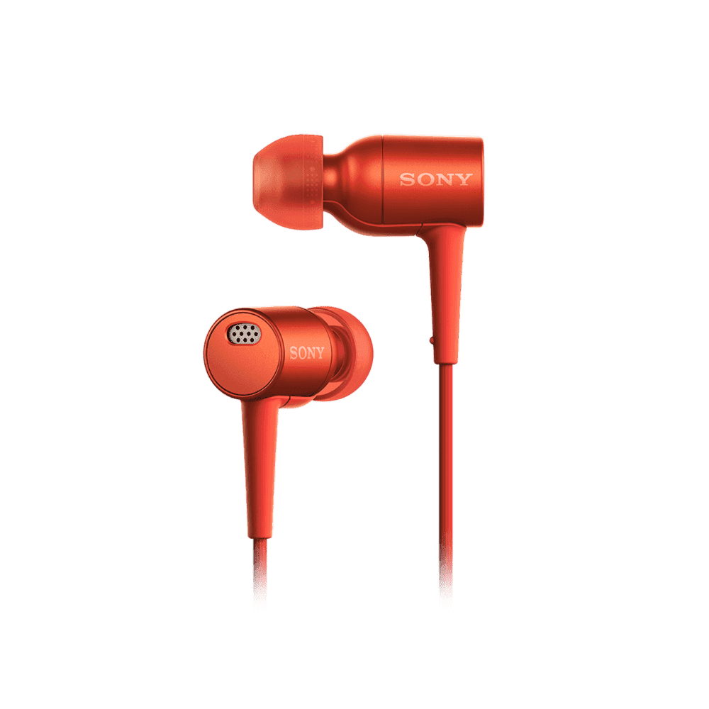 h.ear in Noise Cancelling Headphones (Red)