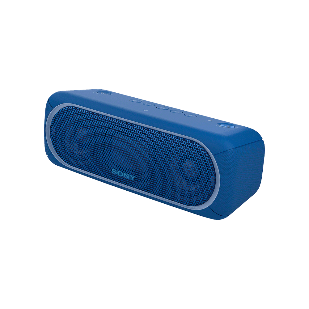 Portable Wireless Speaker with Bluetooth (Blue)