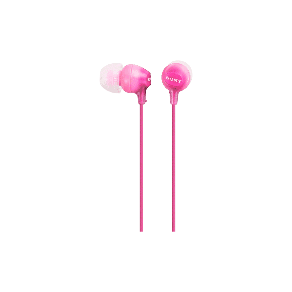 In-Ear Lightweight Headphones (Pink)