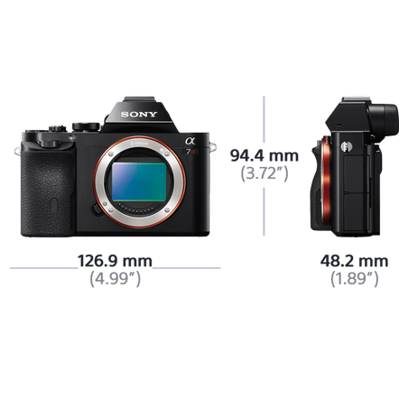 a7R Digital E-Mount Camera with Full Frame Sensor
