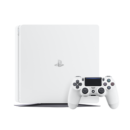 PlayStation4 Slim 500GB Console (White), , lifestyle-image
