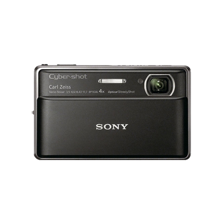 16.2 Megapixel T Series 4X Optical Zoom Cyber-shot Compact Camera (Black)