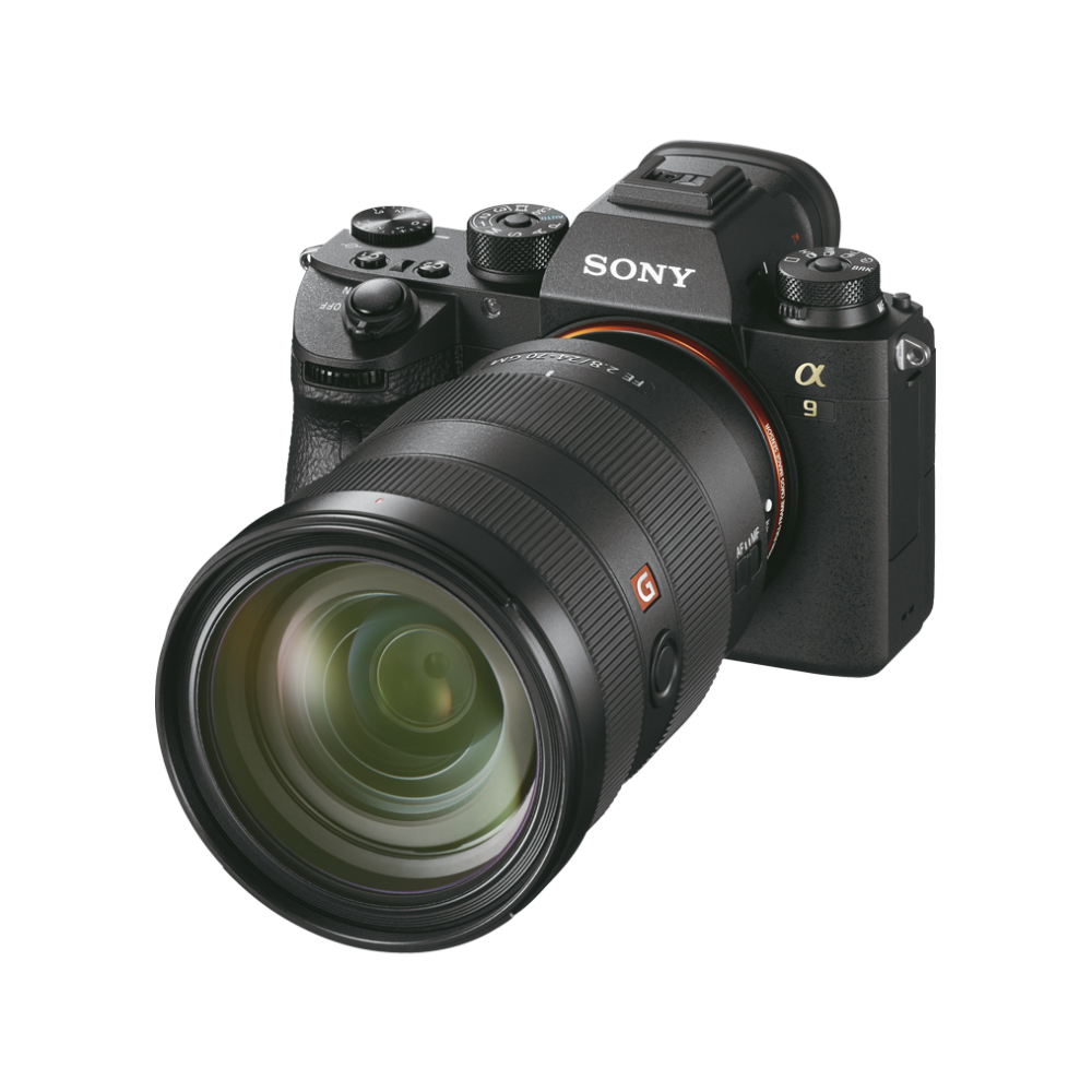 Alpha 9 full-frame camera with stacked CMOS sensor, , hi-res