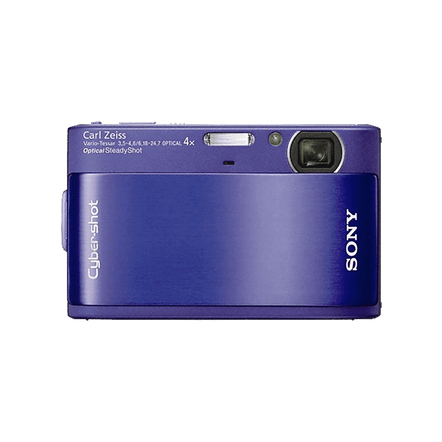 10.2 Megapixel T Series 4X Optical Zoom Cyber-shot Compact Camera (Blue)
