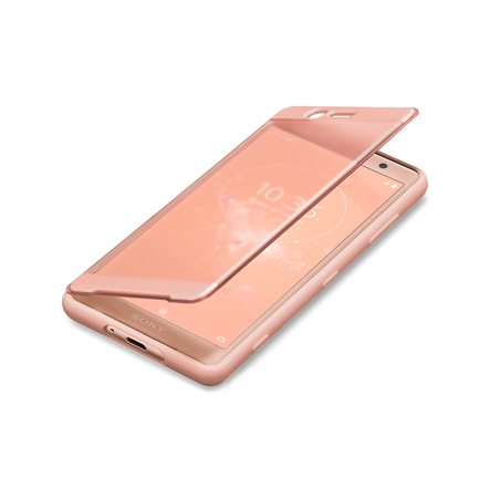super popular 12abf 771c4 Xperia XZ2 Compact Style Cover Touch SCTH50 (Pink)
