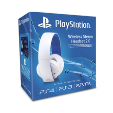 PlayStation4 Wireless Stereo Headset 2.0 (White)