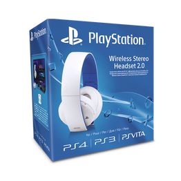 PlayStation4 Wireless Stereo Headset 2.0 (White), , hi-res