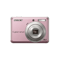 10.1 Megapixel S Series 3X Optical Zoom Cyber-shot Compact Camera (Pink)