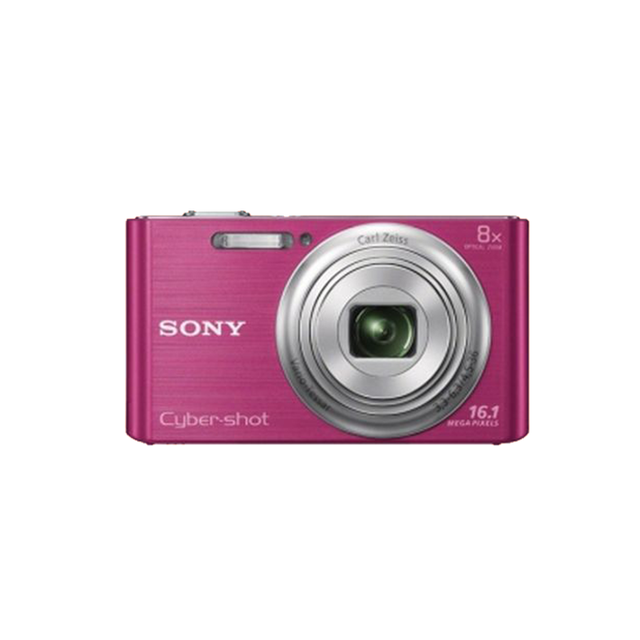 16.1 Megapixel W Series 8X Optical Zoom Cyber-shot Compact Camera (Pink), , product-image