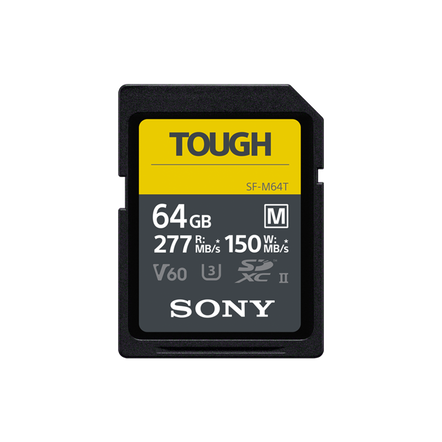 64GB  SF-M Series UHS-II SD Memory Card , , hi-res