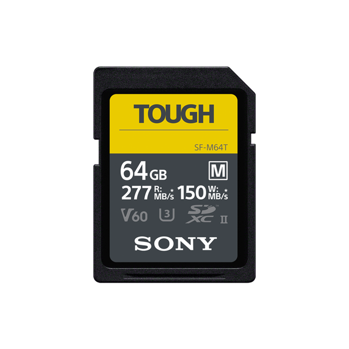 64GB  SF-M Series UHS-II SD Memory Card , , product-image