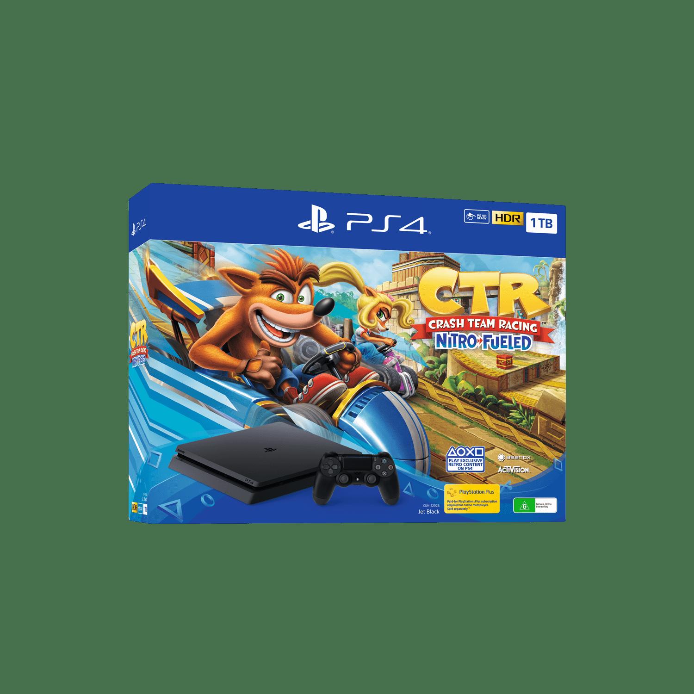 PlayStation4 Slim 1TB Console with Crash Team Racing Nitro-Fueled Bundle, , product-image