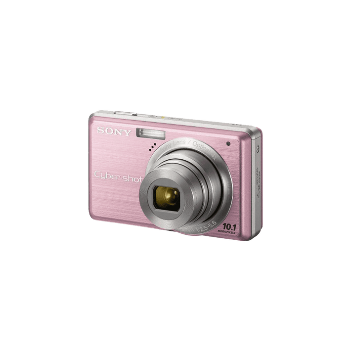 10.1 Megapixel S Series 4X Optical Zoom Cyber-shot Compact Camera (Pink), , product-image