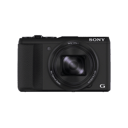 20.4 Megapixel H Series 30X Optical Zoom Cyber-shot Compact Camera (Black)