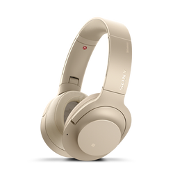h.ear on 2 Wireless Noise Cancelling Headphones (Pale Gold)