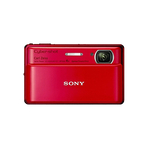 16.2 Megapixel T Series 4X Optical Zoom Cyber-shot Compact Camera (Red), , hi-res