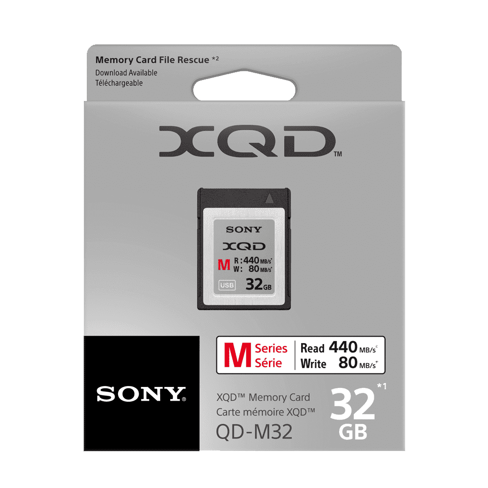 XQD M Series 64GB Memory Card, , product-image