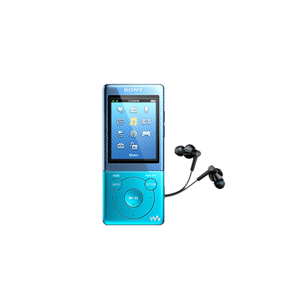 4GB Video MP3/MP4 Walkman (Blue)