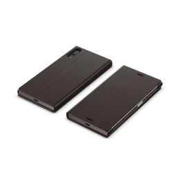 Style Cover Stand SCSF10B for Xperia XZ (Black), , hi-res