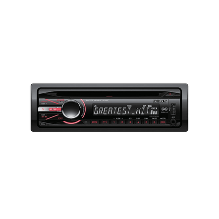 In-Car CD/MP3/WMA/Aac/Tuner Player GT490 Series Headunit