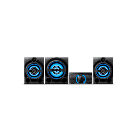 MHC-M80D High Power Home Audio System with DVD, , hi-res