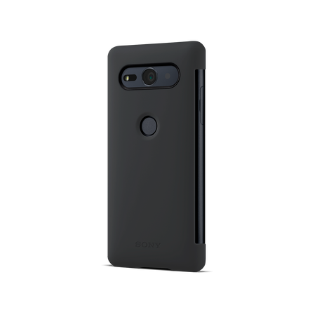 Xperia XZ2 Compact Style Cover Touch SCTH50 (Black)