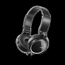 XB250 EXTRA BASS Headphones (Black), , hi-res