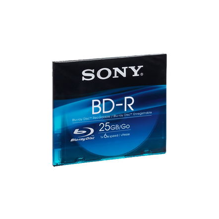 25GB Recordable Blu-ray Disc, , hi-res