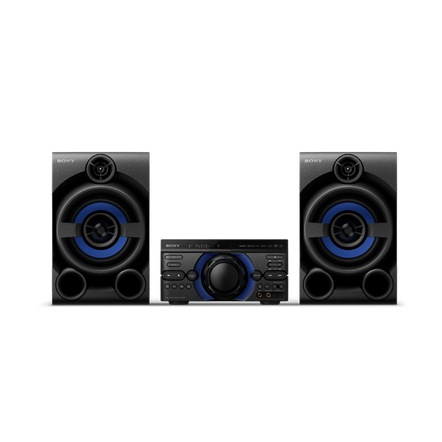 High Power Home Audio System with DVD