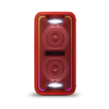 EXTRA BASS High Power Home Audio System with Bluetooth (Red), , hi-res