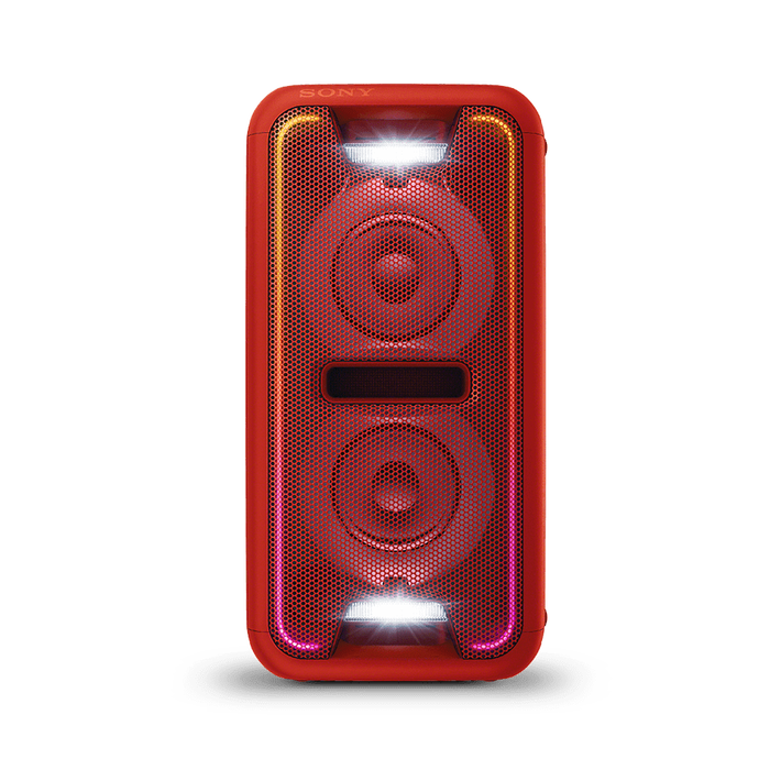 EXTRA BASS High Power Home Audio System with Bluetooth (Red), , product-image