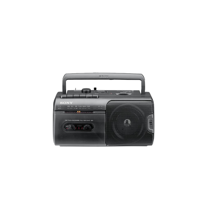 Radio Cassette Player (Black), , product-image