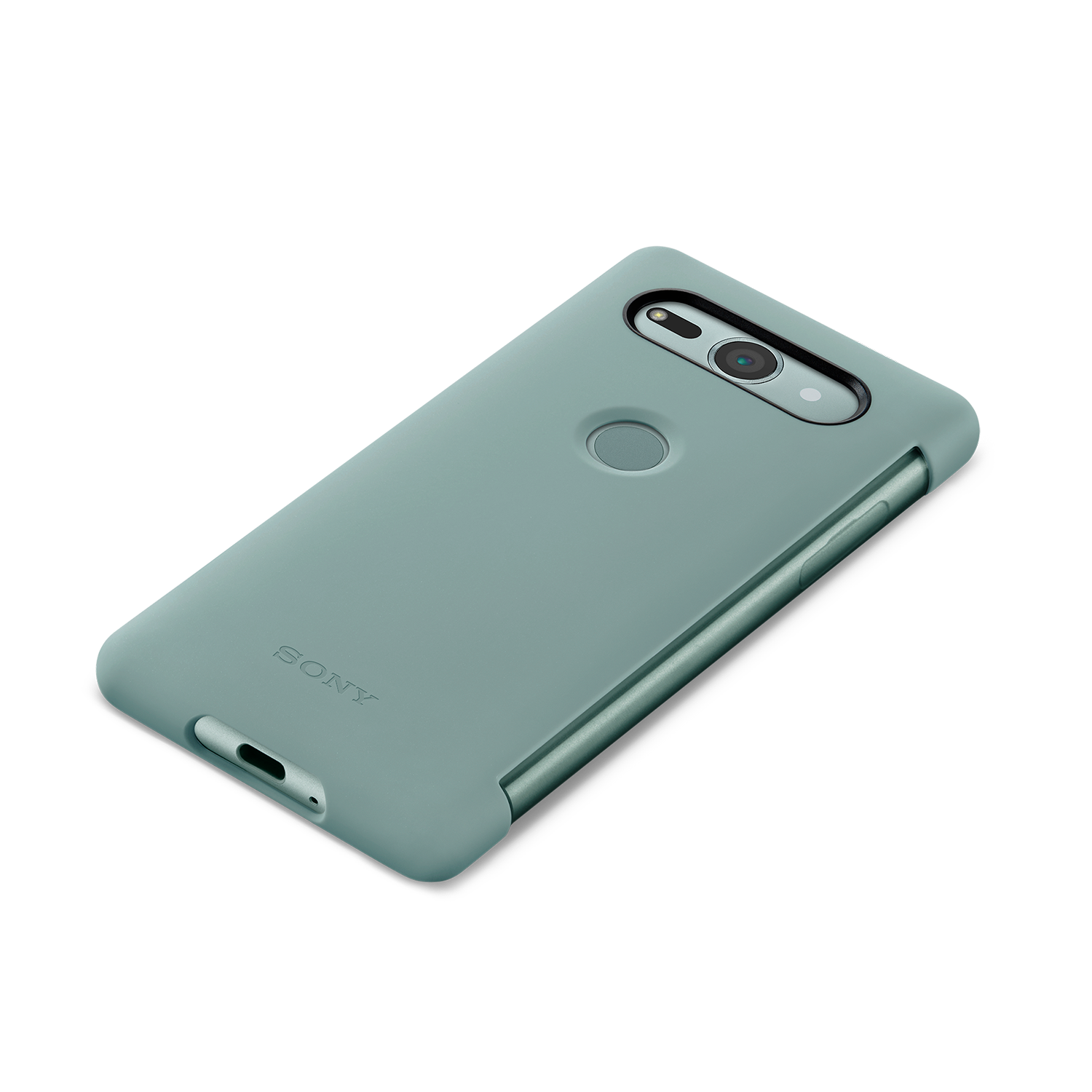 Xperia XZ2 Compact Style Cover Touch SCTH50 (Green), , hi-res
